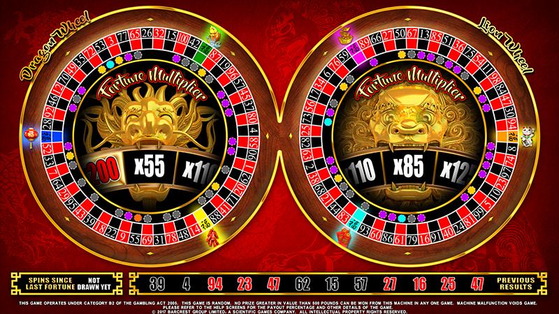 Fortune 8 Roulette Wheel