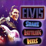 Elvis Shake Rattling Reels slot logo
