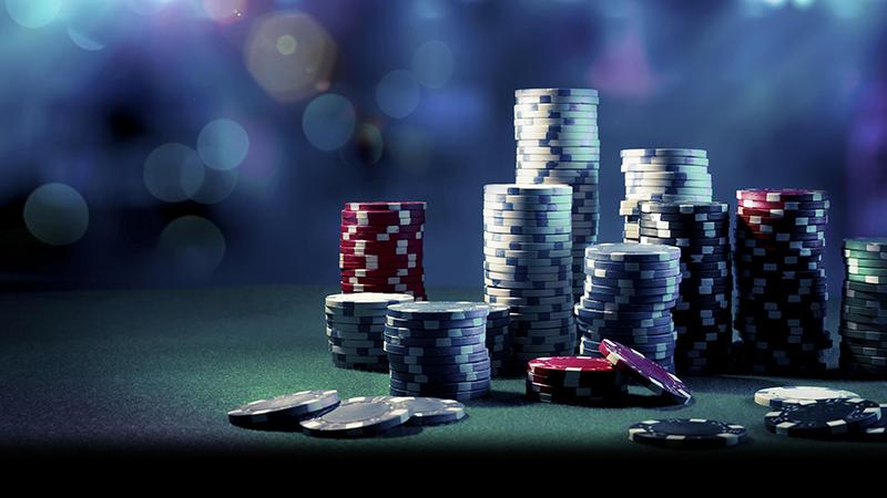 Winning a big pot in poker