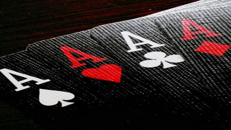 Four of a kind all Aces