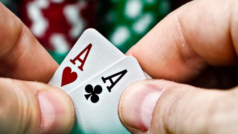 Hiding your poker cards
