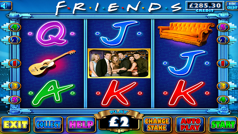 Friends slot machine £100 jackpot