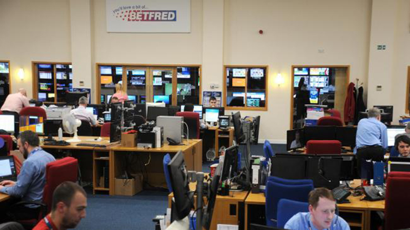Betfred offices