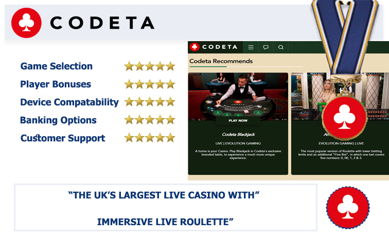 Codeta Casino review