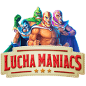 Lucha Maniacs slot logo