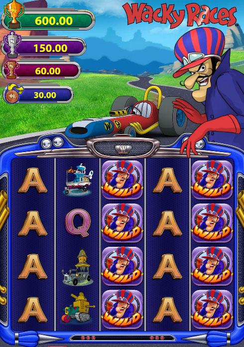 Wacky Races slot game