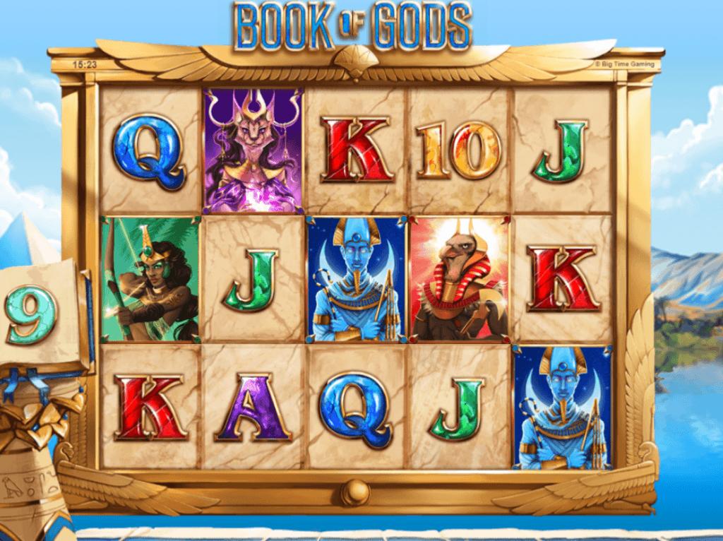 book of gods slot gameplay 2