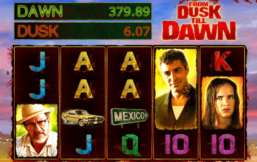 from dusk till dawn slot gameplay