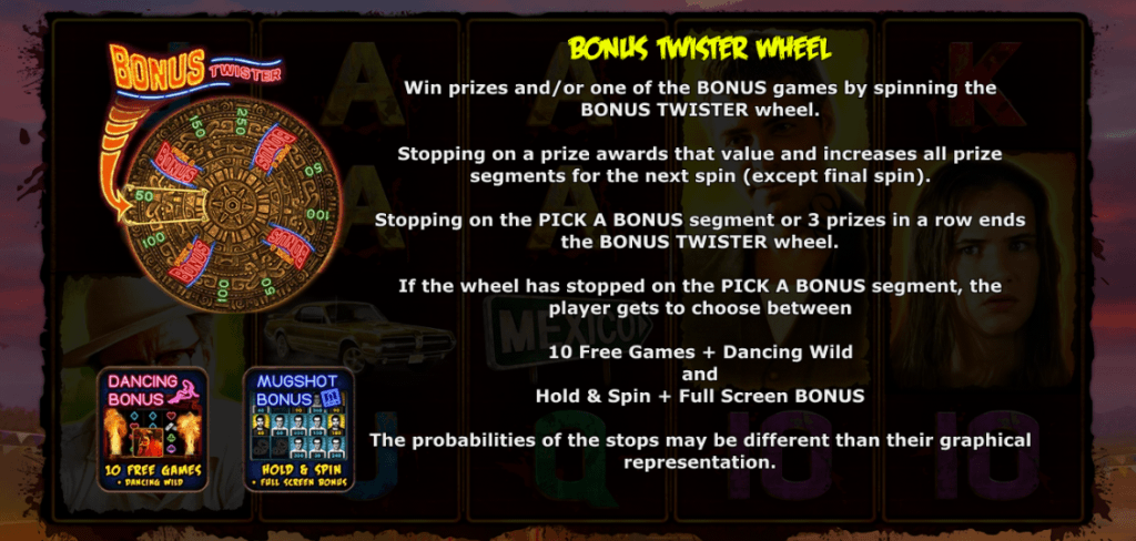 from dusk till dawn slot rules