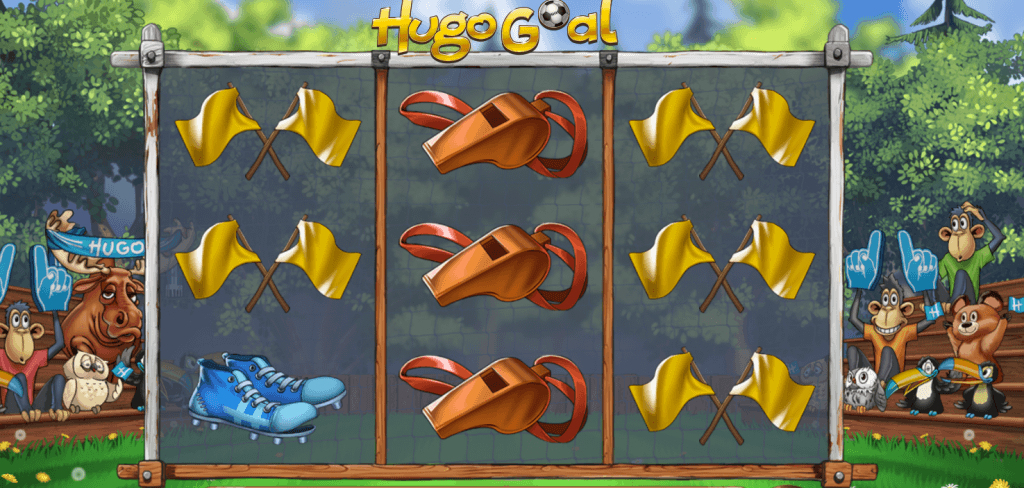 hugo goal slot gameplay