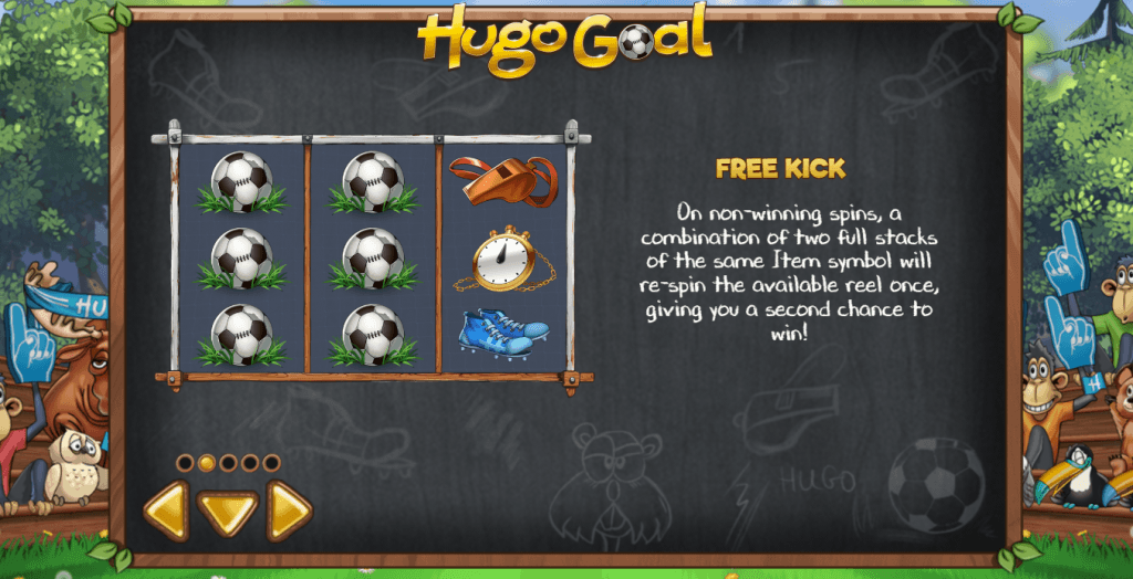 hugo goal slot rules
