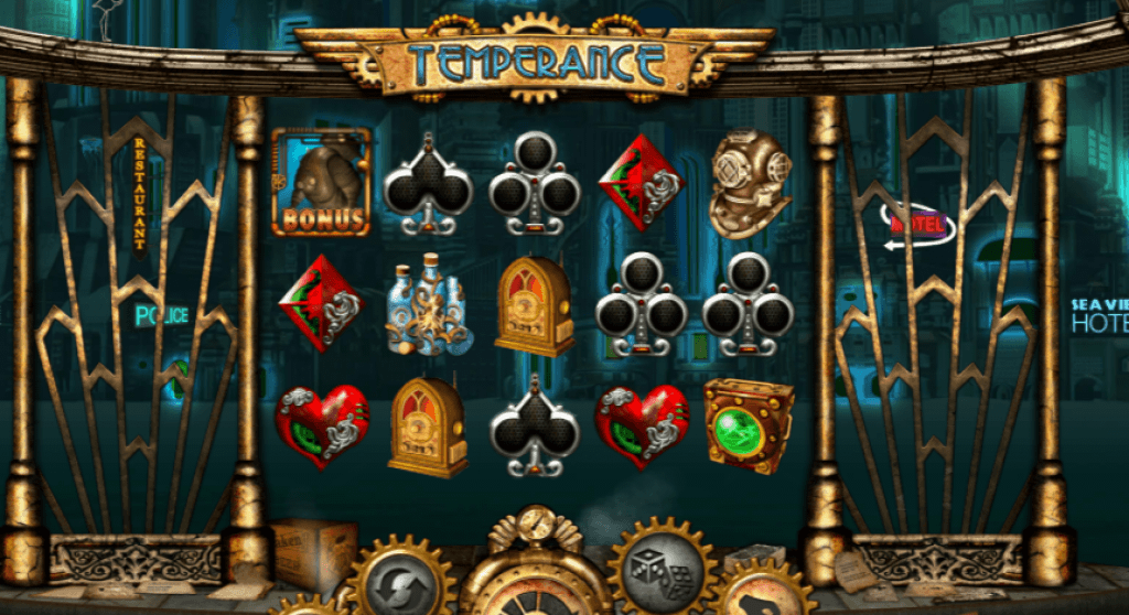temperance slot gameplay