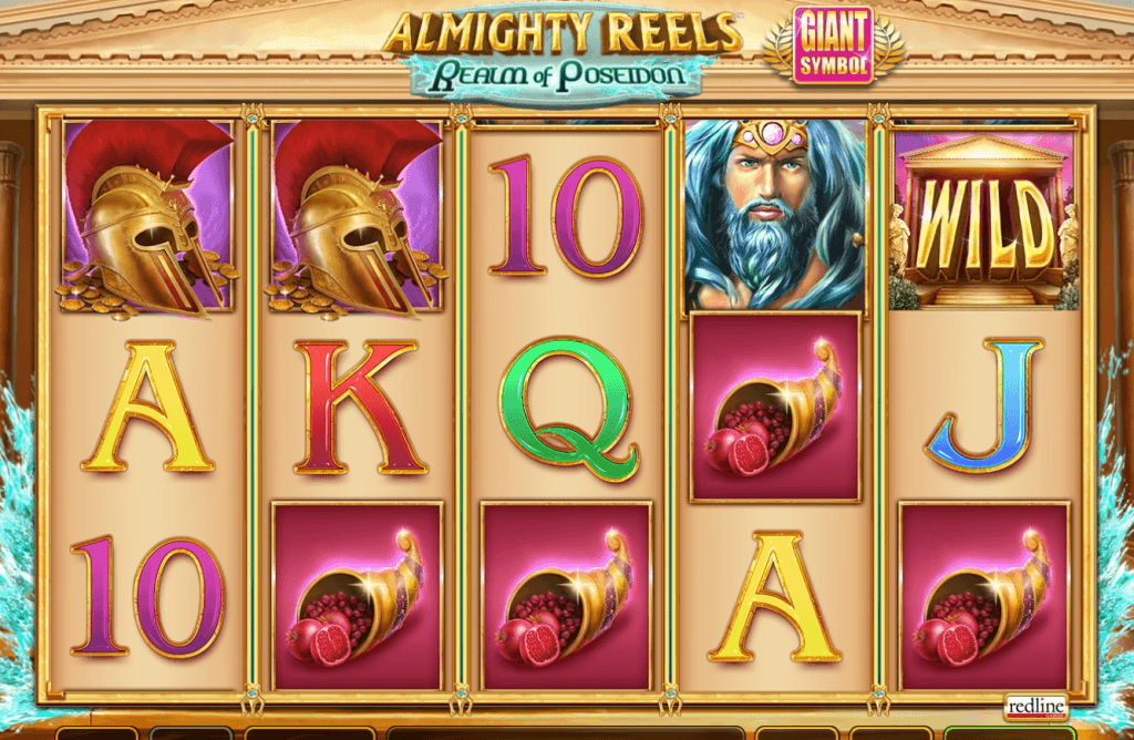 almighty reels realm of poseidon slot gameplay