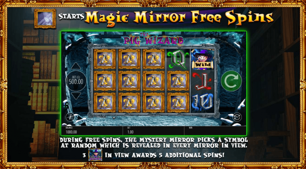 the pig wizard slot rules