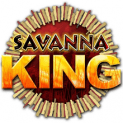 savanna king slot logo