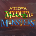 age of the gods medusa and monsters slot logo