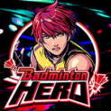 badminton hero slot logo