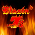blazin hot 7s slot logo