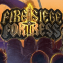 fire siege fortress slot logo