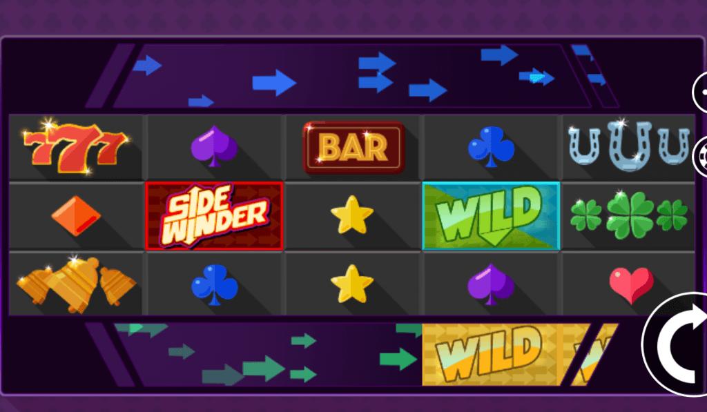 sidewinder slot gameplay 2