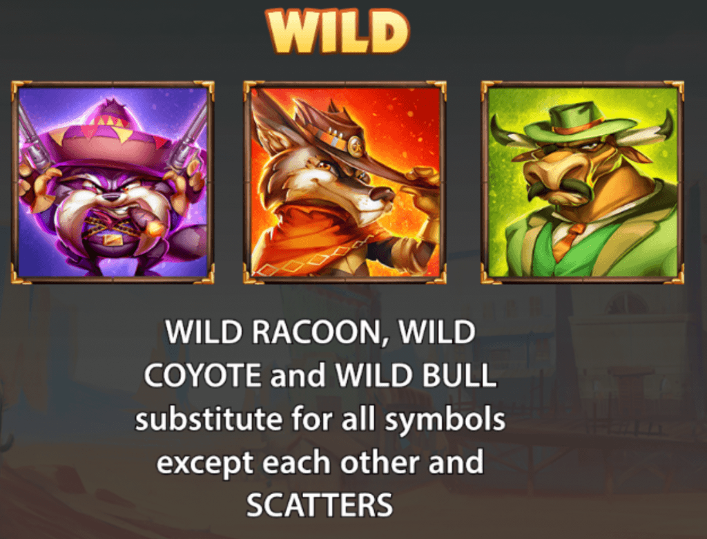 the wild 3 slot rules