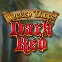 wicked tales dark red slot logo