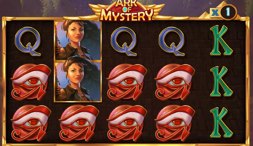 ark of mystery slot gameplay