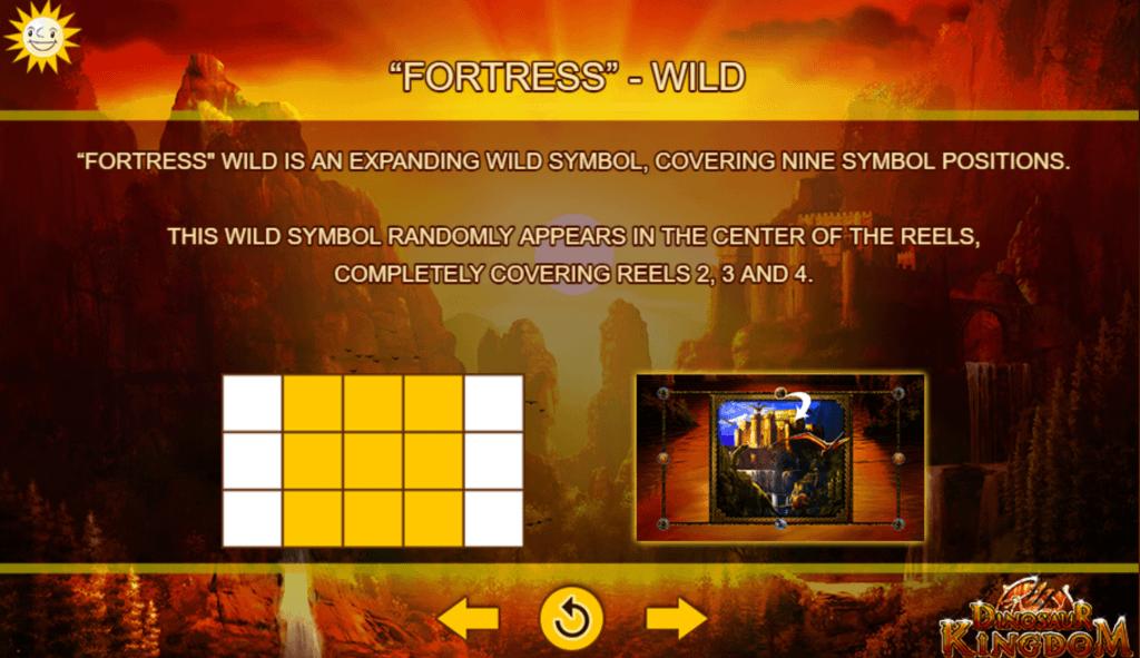 dinosaur kingdom slot rules