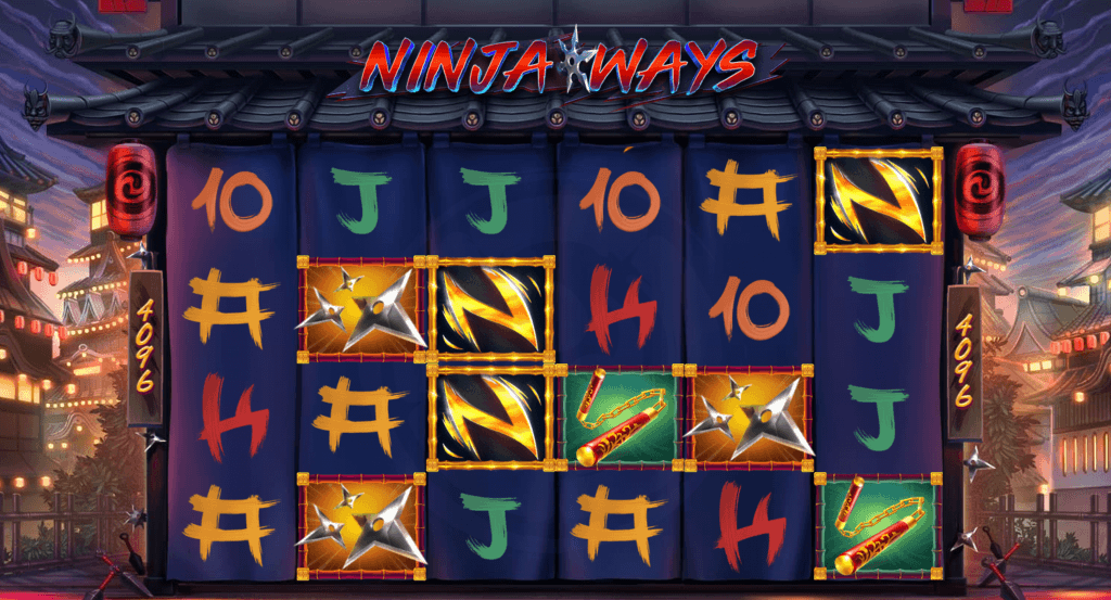 ninja ways slot gameplay