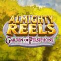 almighty reels garden of persephone slot logo