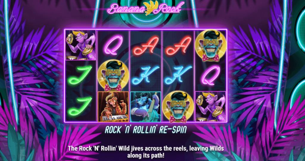 banana rock slot rules