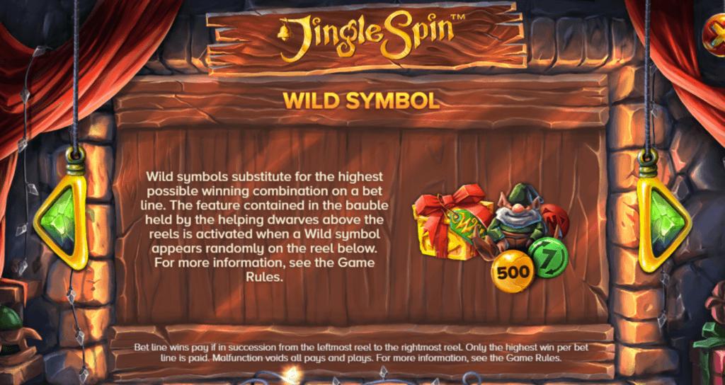 jingle spin slot rules