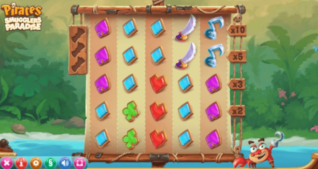 pirates smugglers paradise slot gameplay