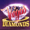 vegas diamonds slot logo