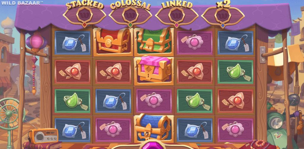 wild bazaar slot gameplay