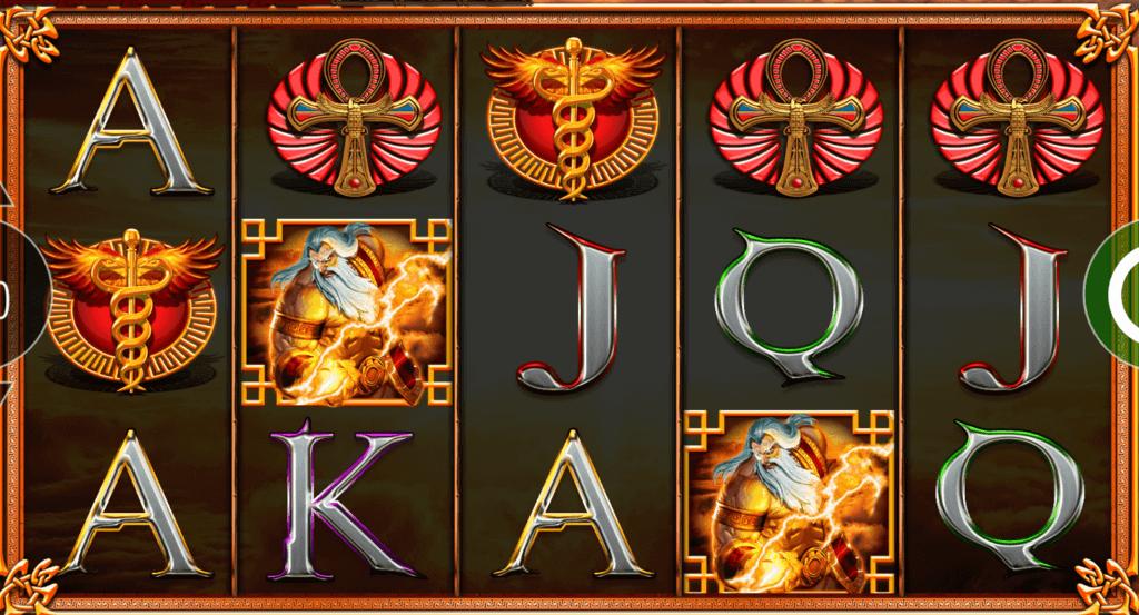 journey of the gods slot gameplay
