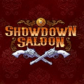 showdown saloon slot logo