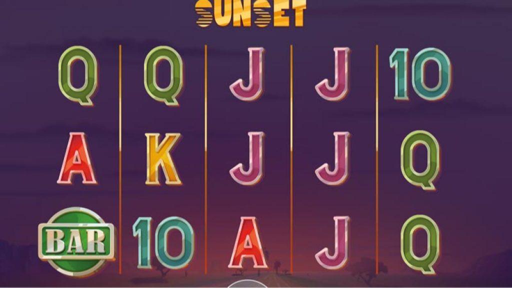 sunset-slot-gameplay