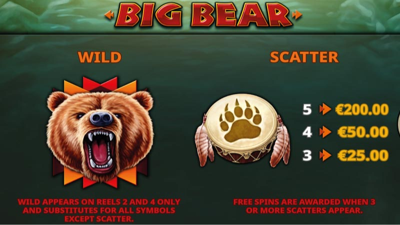 big-bear-slot-rules