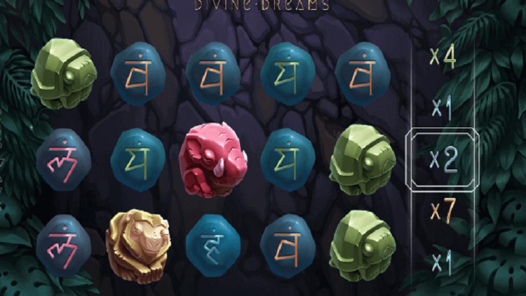divine dreams slot gameplay
