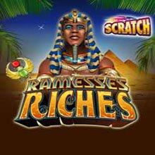 Ramesses Riches Scratch Card