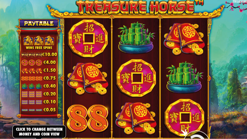 treasure-horse-slot-gameplay