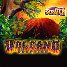 Volcano Eruption Scratch Card