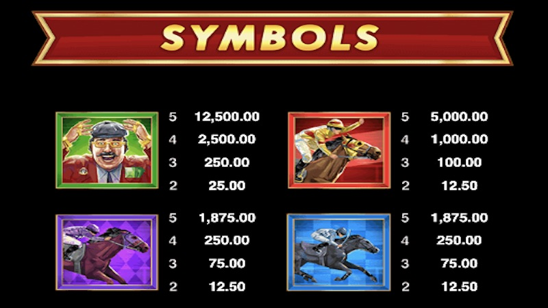 bookie of odds slot rules