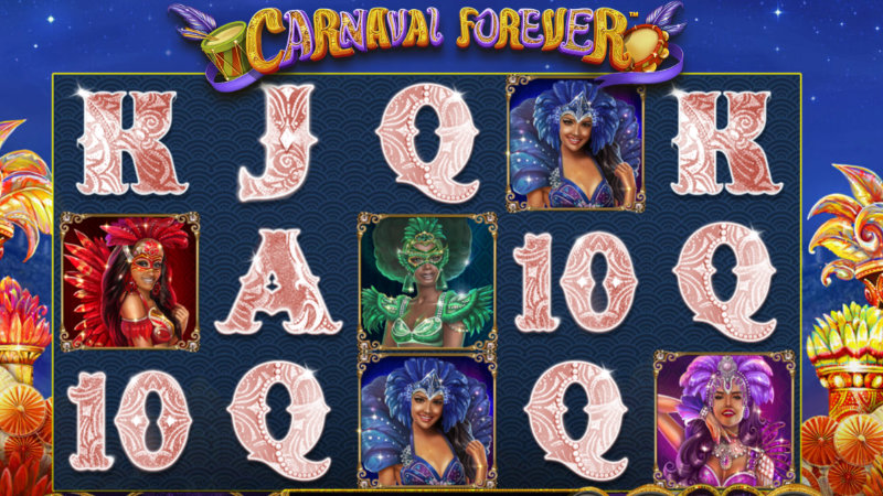 carnival forever slot gameplay