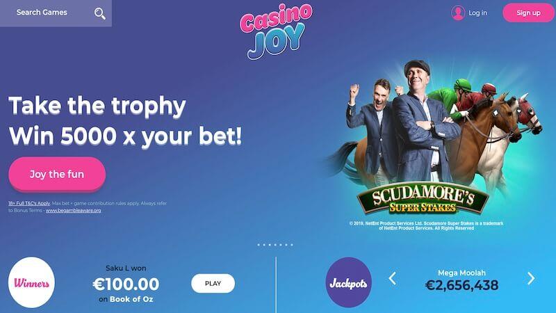 casino joy casino homepage
