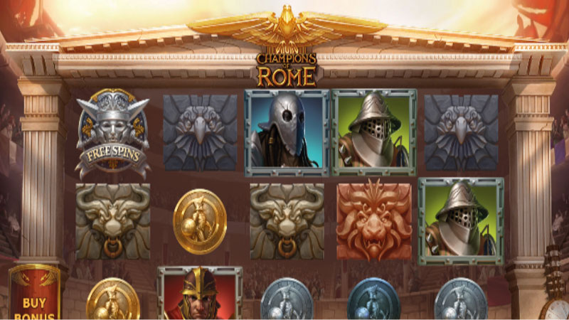 champions-of-rome-slot-gameplay