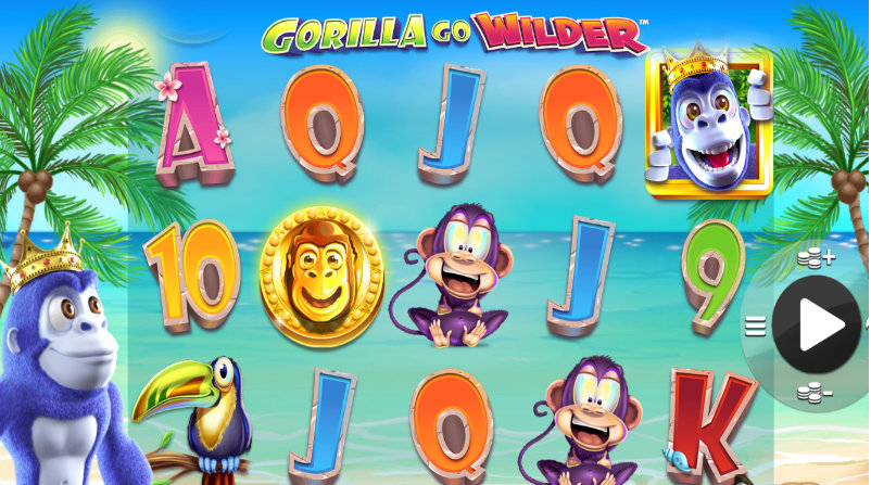 gorilla go wilder slot gameplay