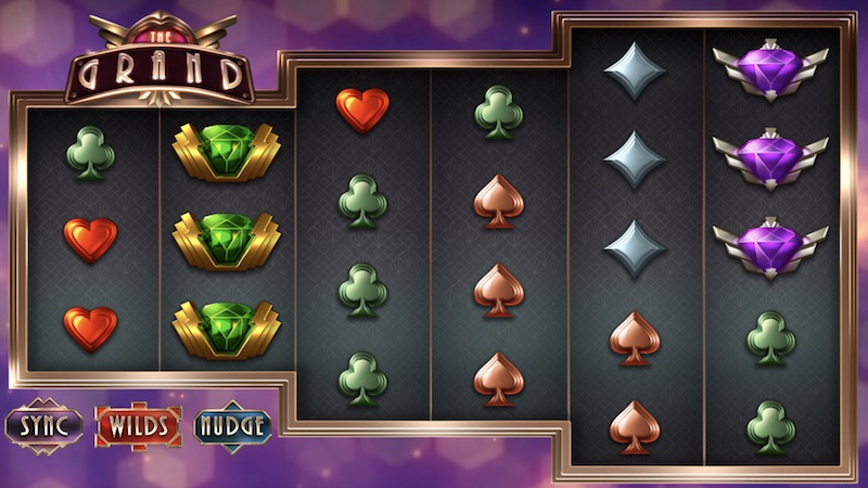 the grand slot gameplay