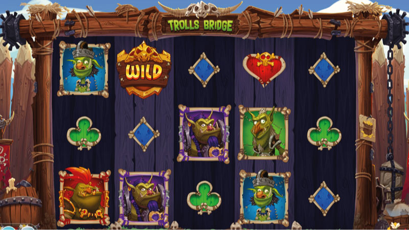 trolls-bridge-slot-gameplay